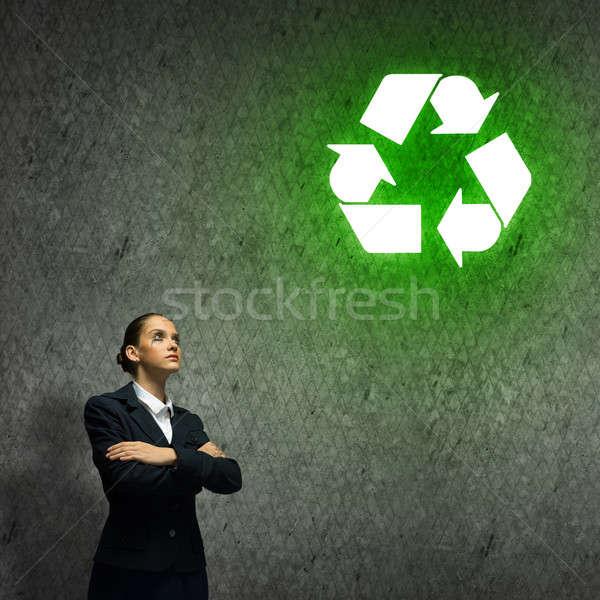 Recycling concept Stock photo © adam121