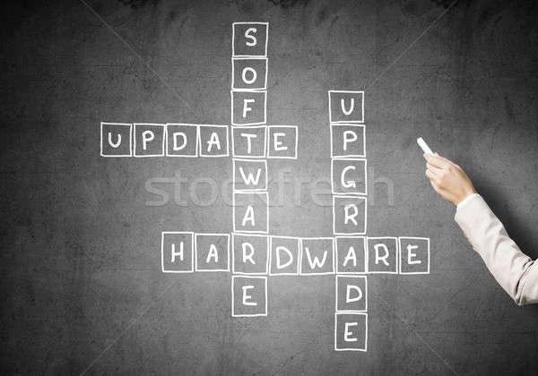 Scribble Drawing Crossword : Crossword stock photos images and vectors stockfresh