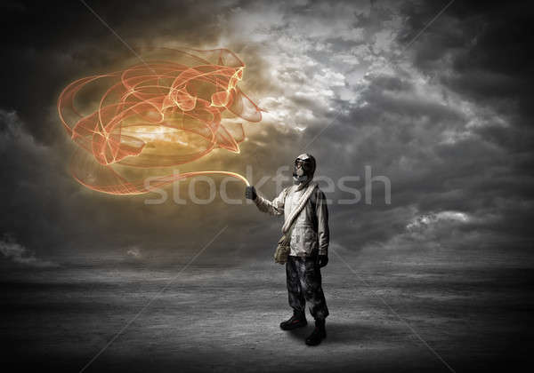 Radioactivity catastrophe Stock photo © adam121