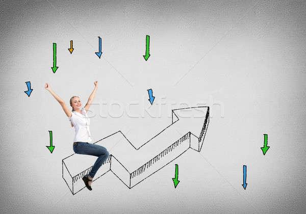 Success achieving Stock photo © adam121