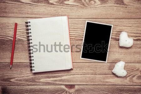 Writing love message Stock photo © adam121