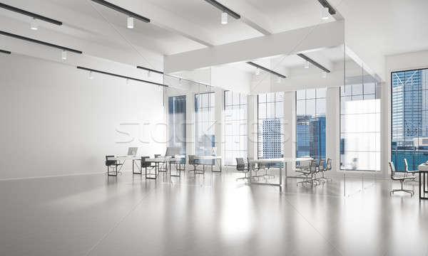 ストックフォト: オフィス · インテリアデザイン · 色 · 日光 · 光 · ウィンドウ