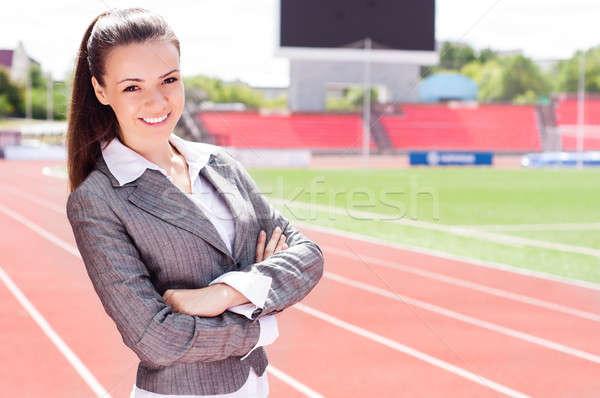 portrait of a beautiful business woman Stock photo © adam121