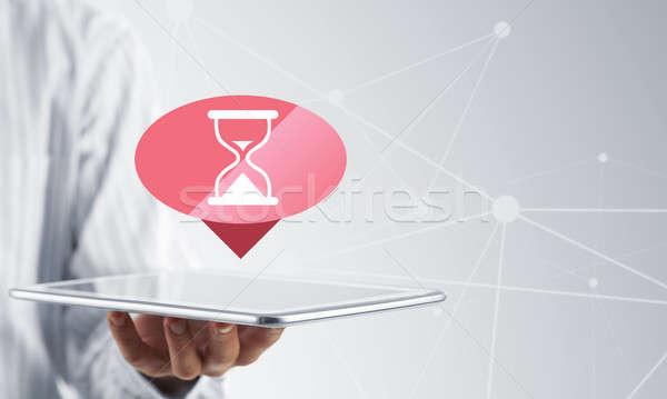 Loading application icon Stock photo © adam121
