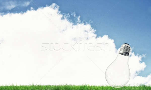 Alternative solar energy concept Stock photo © adam121