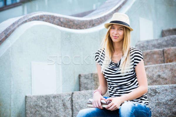 Spending summertime Stock photo © adam121