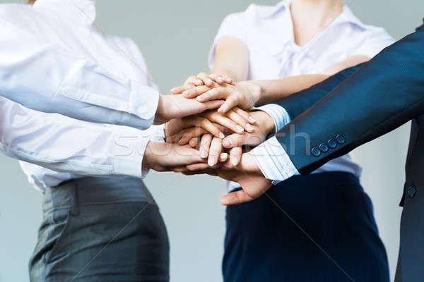 concept of teamwork Stock photo © adam121