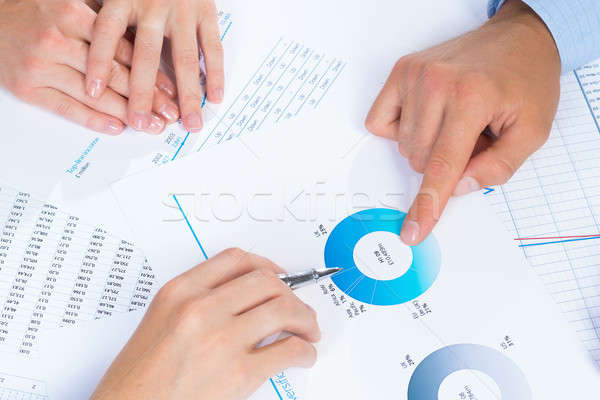 business people discuss meeting targets Stock photo © adam121