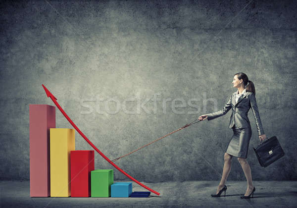 Controlling growth dynamics Stock photo © adam121