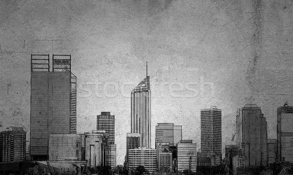 Urban development project Stock photo © adam121