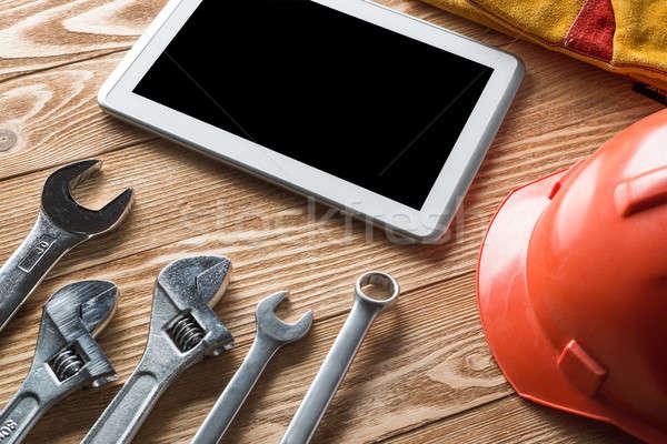 ремонта службе запросить разнообразие инструменты строителя Сток-фото © adam121
