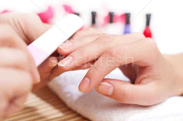 Hands Spa. Manicure concept Stock photo © adam121