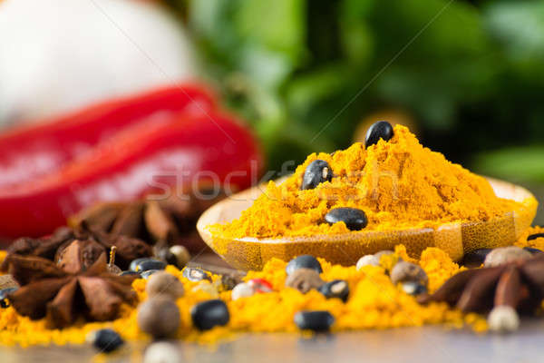 close-up of Asian spices Stock photo © adam121
