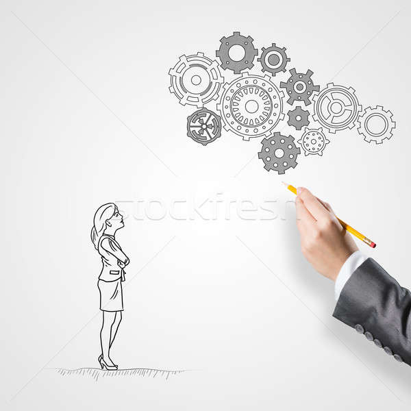 Business collaboration and organization Stock photo © adam121
