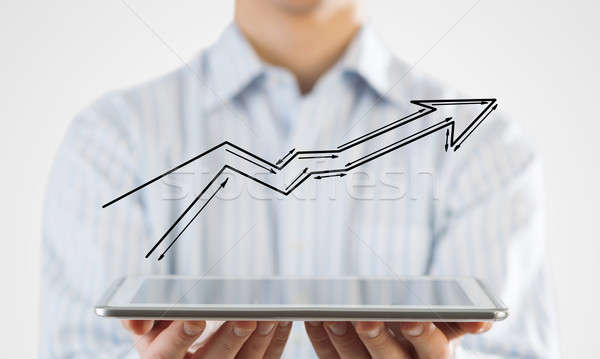 Growth and progress in business Stock photo © adam121