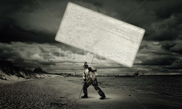 Apocalypse and disaster concept Stock photo © adam121