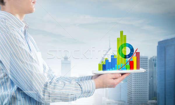 平均 販売 レポート 近い 表示 ストックフォト © adam121