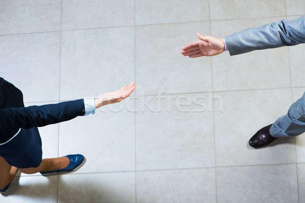 Handen samen zakenman ander Stockfoto © adam121