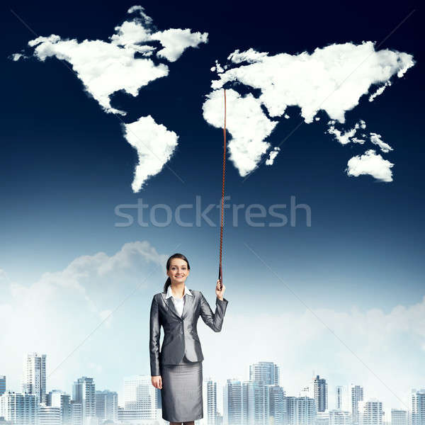Controlling the whole world Stock photo © adam121