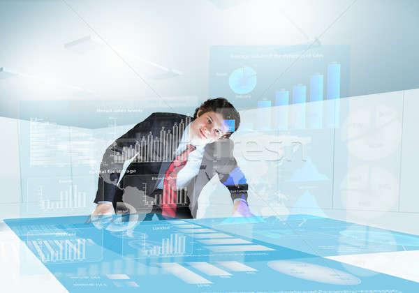 Business presentation Stock photo © adam121