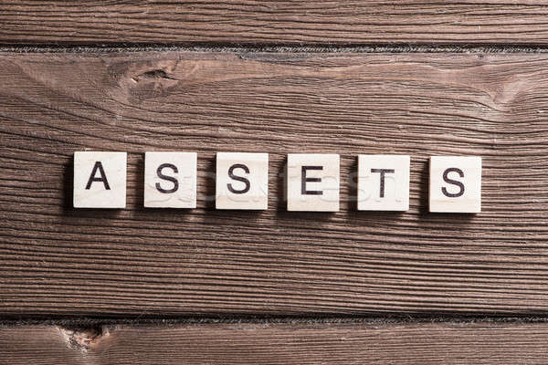Asset management concept Stock photo © adam121
