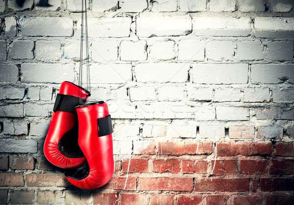 Boxing sport concept Stock photo © adam121