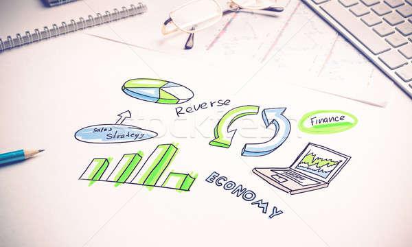 Make your sales grow Stock photo © adam121