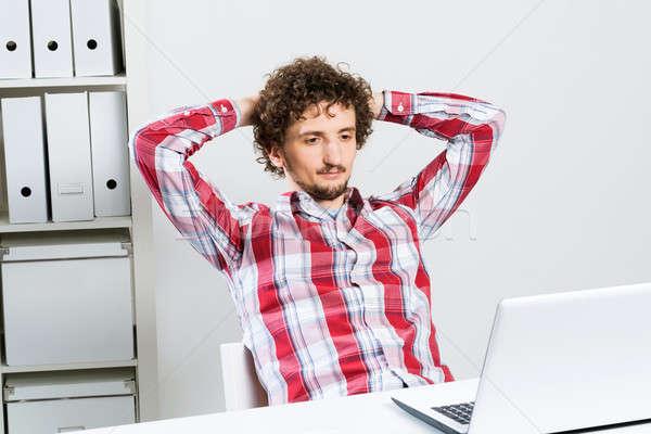 Man taking a break Stock photo © adam121