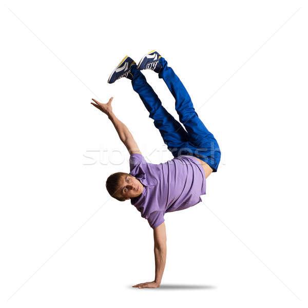 хип-хоп танцовщицы молодые довольно мальчика Перейти Сток-фото © adam121