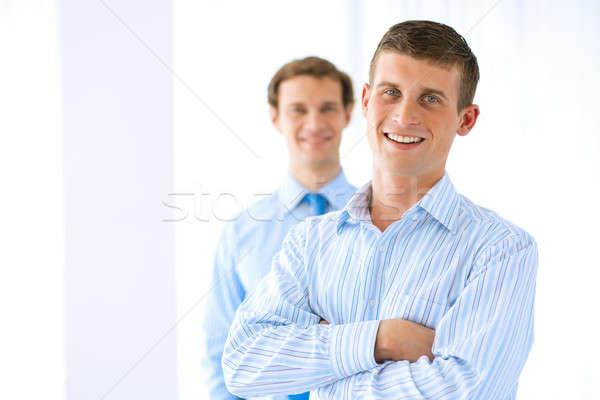 Portrait of a successful businessman Stock photo © adam121