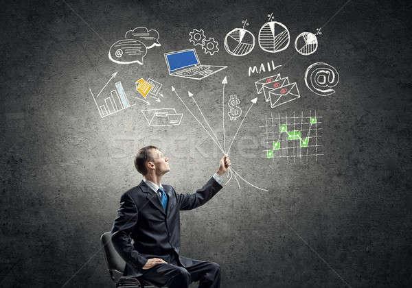 Business strategy planning Stock photo © adam121
