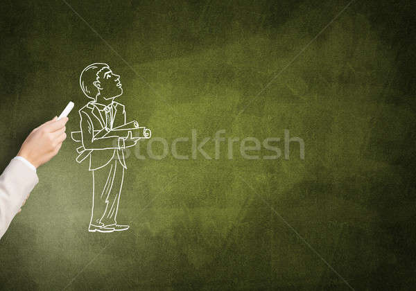 Caricatures of businessman Stock photo © adam121