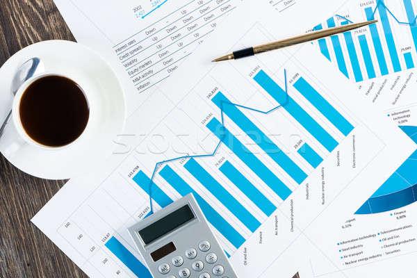 Business ancora vita vicino lavoro finanziaria rapporti Foto d'archivio © adam121