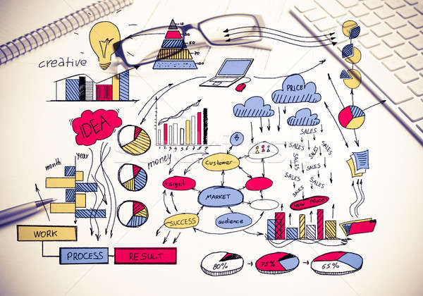 Plan for profitable business Stock photo © adam121