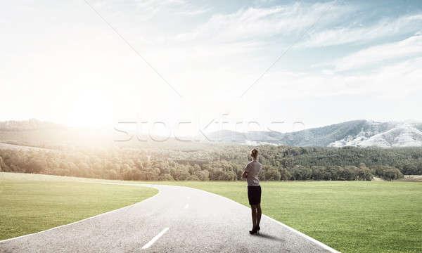 Your way to success Stock photo © adam121