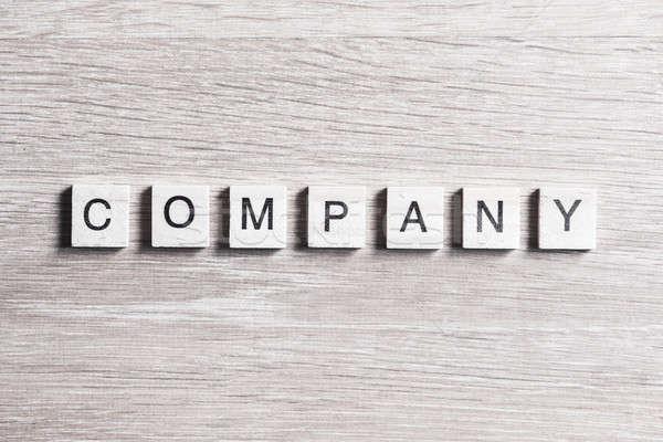 Działalności firmy korporacja przedsiębiorstwo słowo elementy Zdjęcia stock © adam121