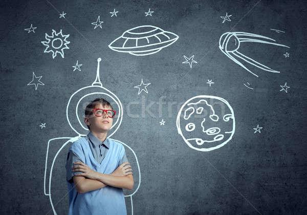 Childhood Dreams of future Stock photo © adam121