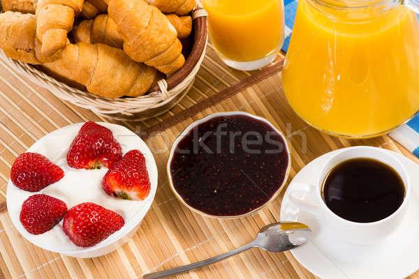continental breakfast Stock photo © adam121