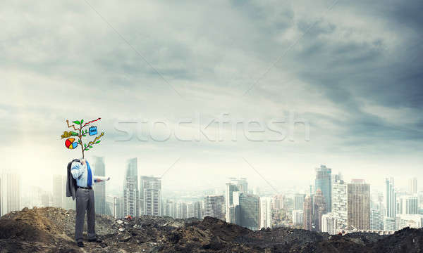He knows how to earn money Stock photo © adam121