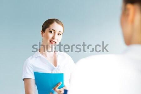 Young business woman Stock photo © adam121