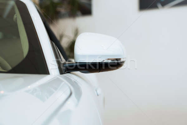 mirror white car Stock photo © adam121