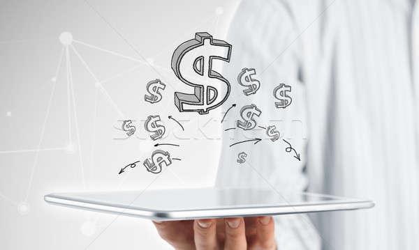Earn your money online Stock photo © adam121