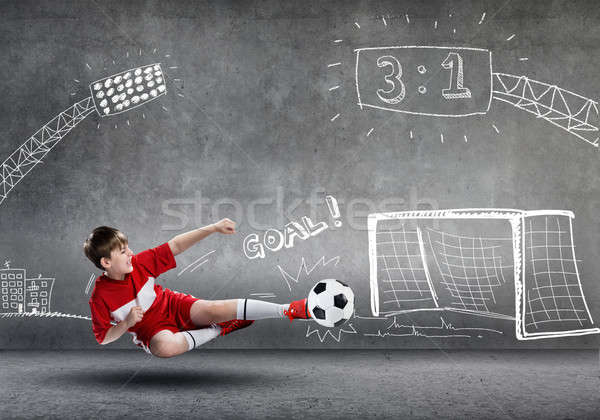 Football champion Stock photo © adam121