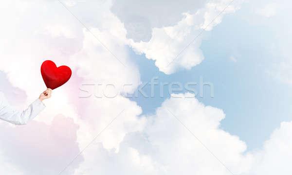 Sprawdzić serca zdrowia strony kobieta lekarza Zdjęcia stock © adam121