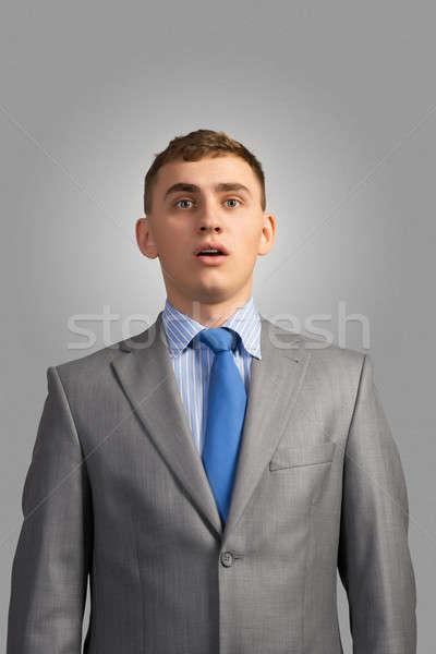 portrait of a young businessman Stock photo © adam121
