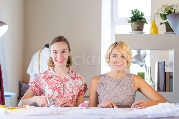 Two sempstress at work Stock photo © adam121