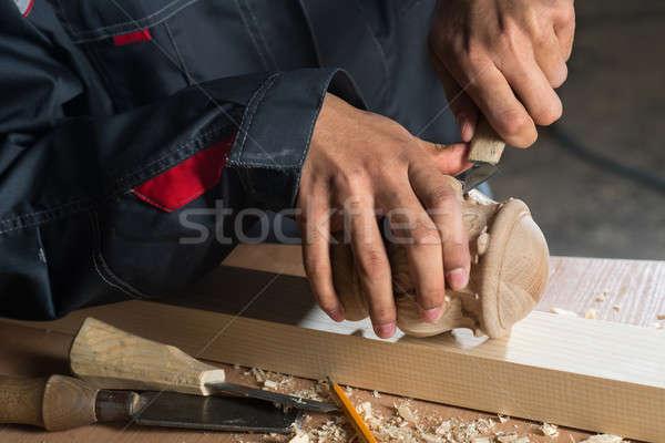 Carpenter at work Stock photo © adam121