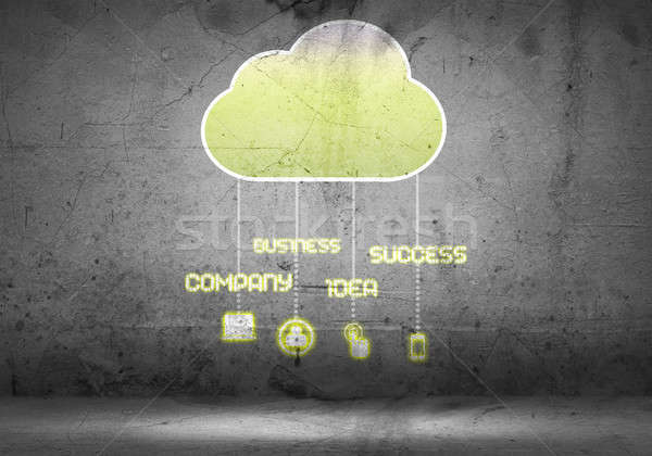 Computing cloud Stock photo © adam121