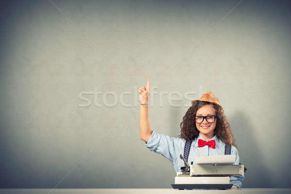 woman writer Stock photo © adam121