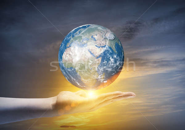 Our Earth planet Stock photo © adam121